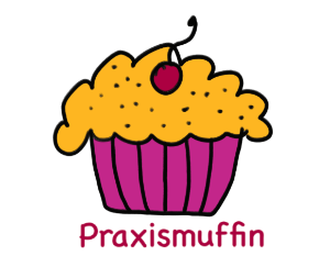 Das ist ein Muffin, der immer dann kommt, wenn es Praxistipps gibt. Er nennt sich deshalb auch Praxismuffin.
